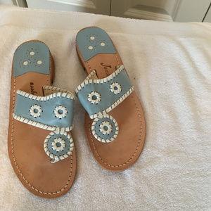 Jack Rogers Sandal - Light Blue - Size 8